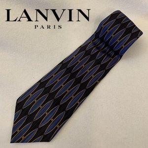 Lanvin Satin Silk Tie